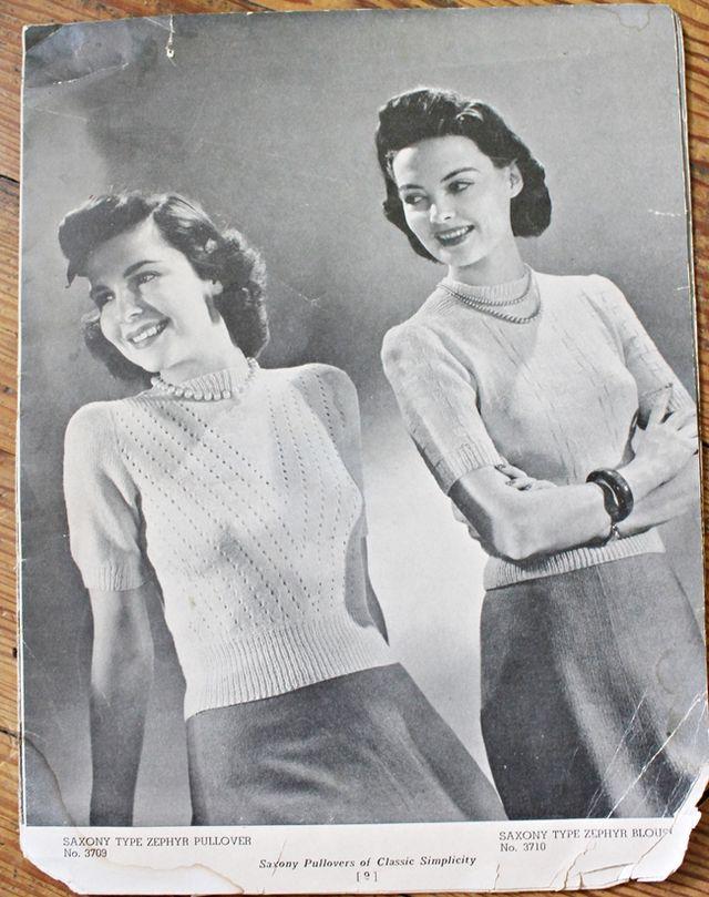1940sshortsleeveblouses