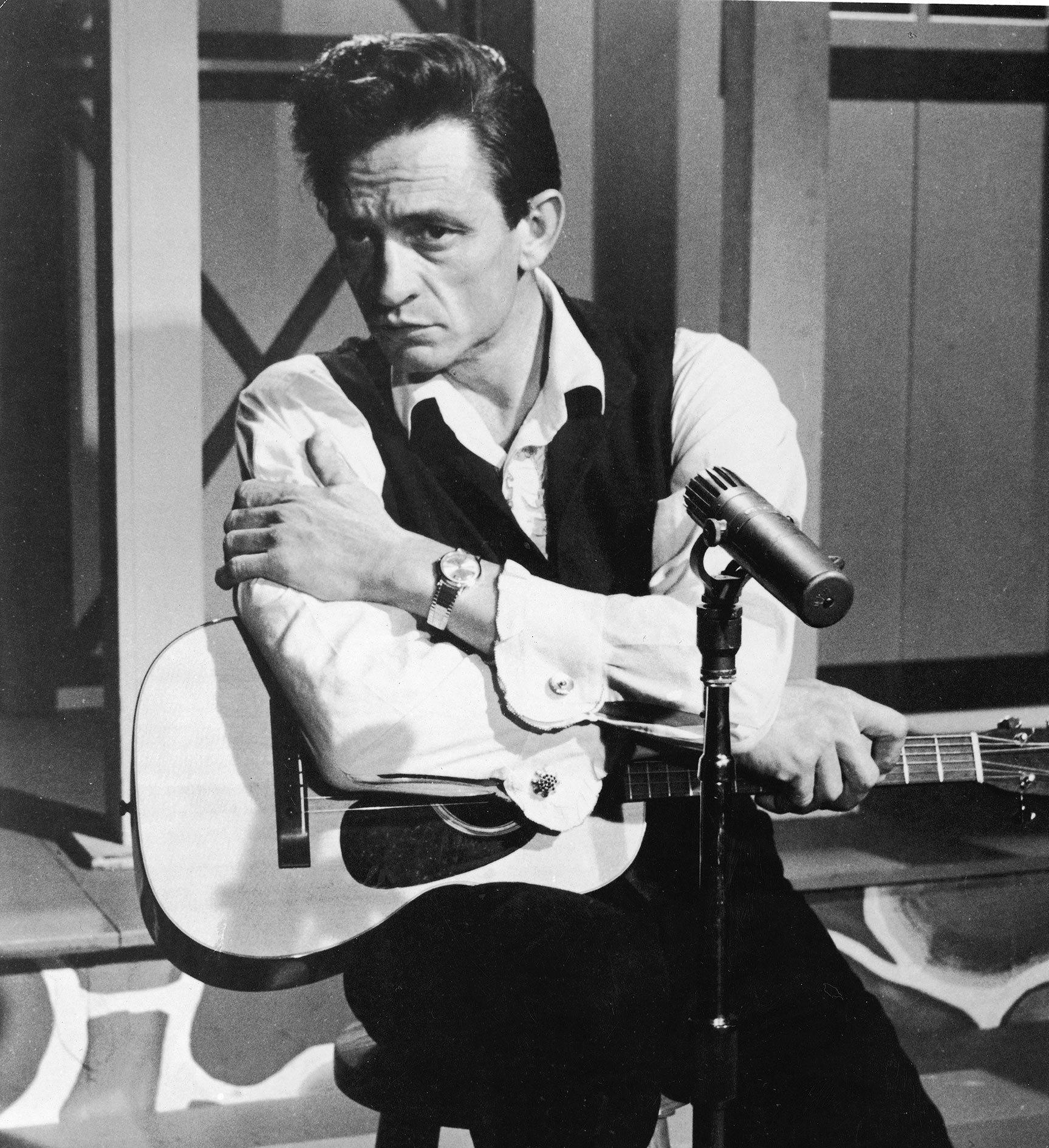 Johnny Cash In 'Road To Nashville'