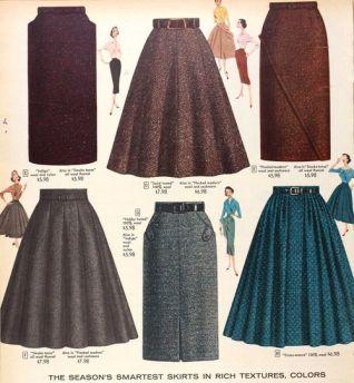 1940sskirts