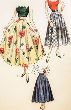 9233e87bbe6dd92c3861d0029936e77f--vintage-skirt-vintage-hats