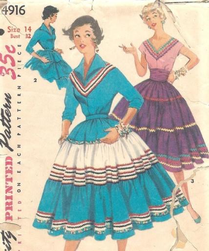 d2007677a5928837d23f16c0c64df9f6--vintage-dress-patterns-sewing-patterns